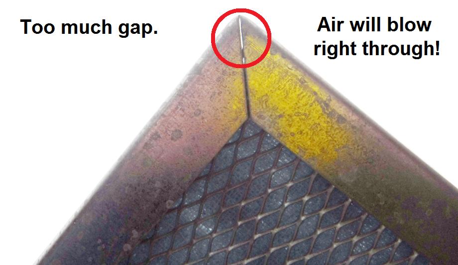 washable-electrostatic-filter-gap